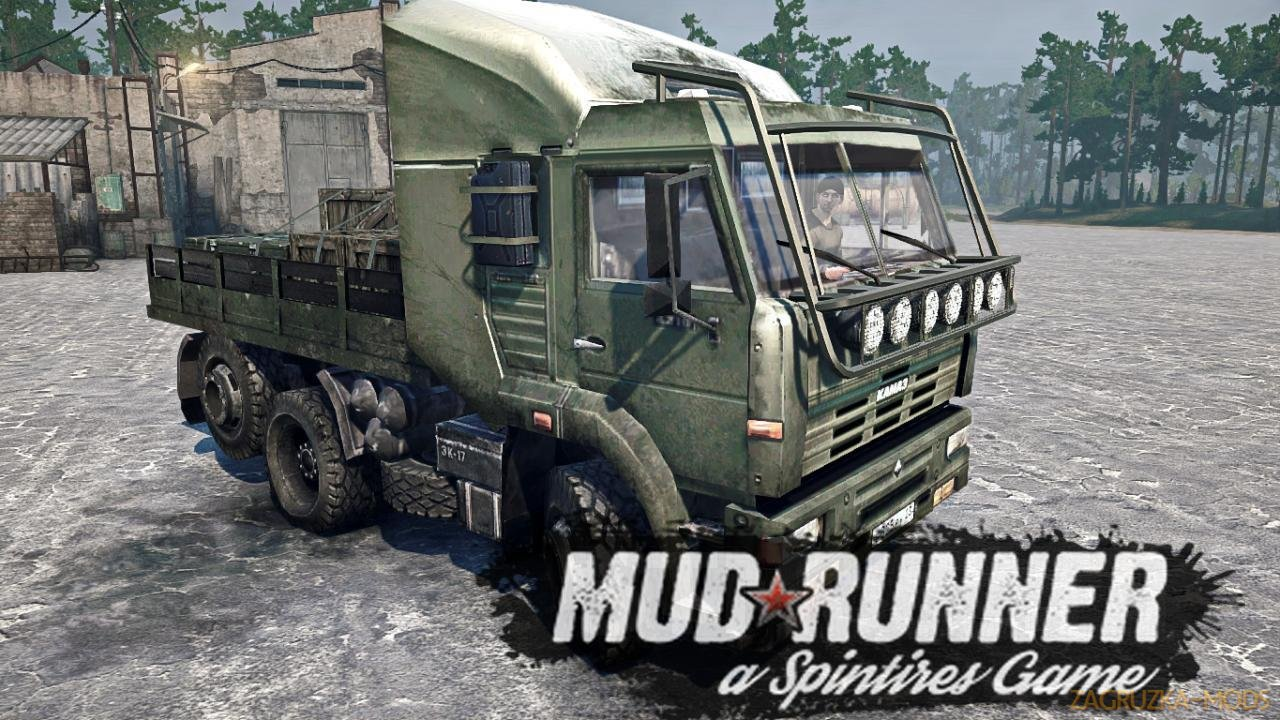 KamAZ Tech Demo 2011 (v21.05.18) for SpinTires: MudRunner