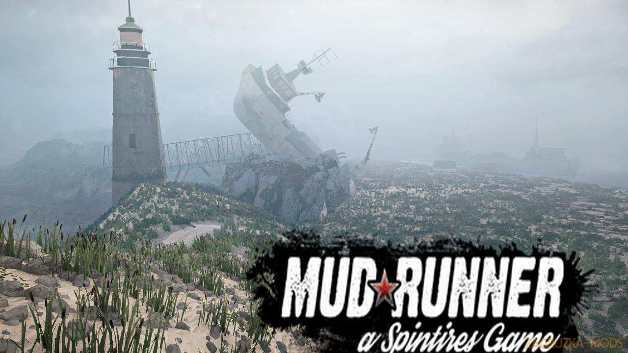 Desert Hill Map v1.0 (v21.05.18) for SpinTires: MudRunner
