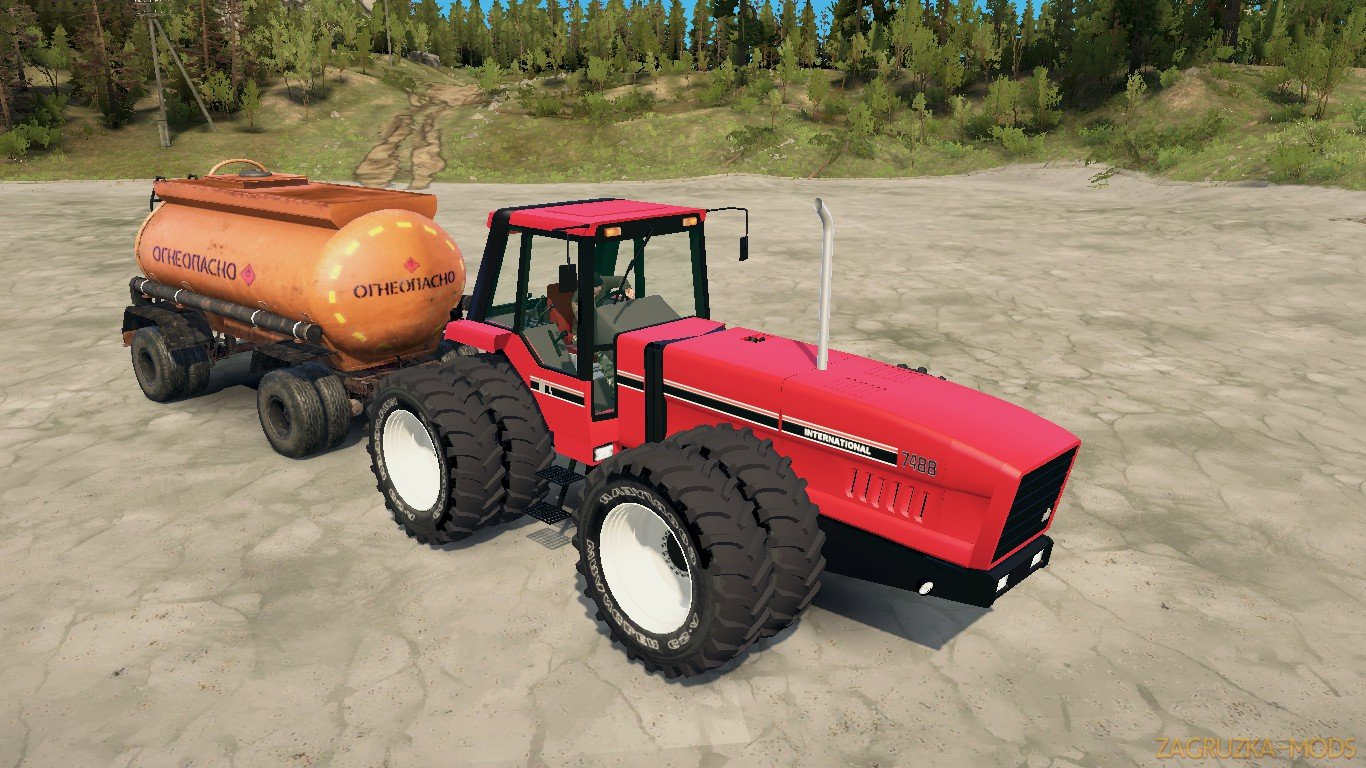 Tractor International 7488 v1.0 (v21.05.18) for SpinTires: MudRunner