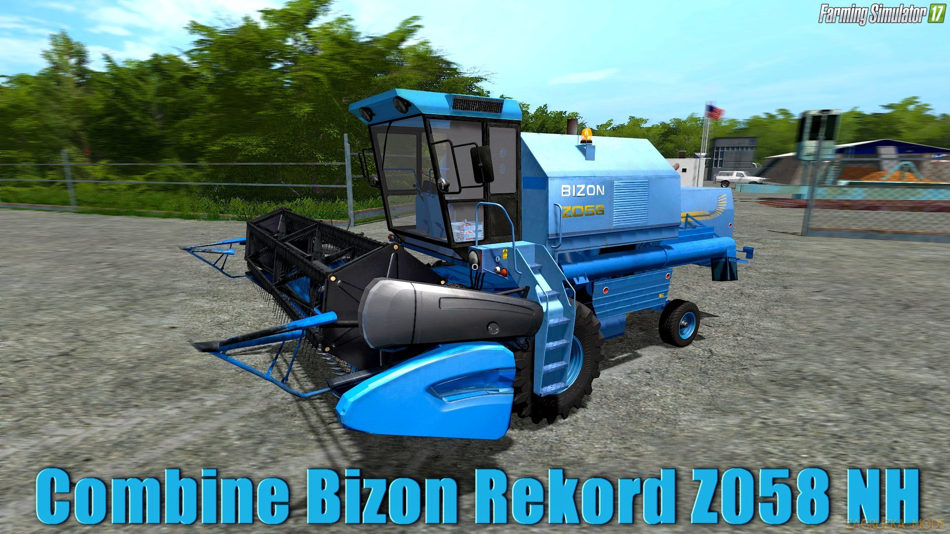 Bizon Rekord Z058 NH v1.0 for FS 17