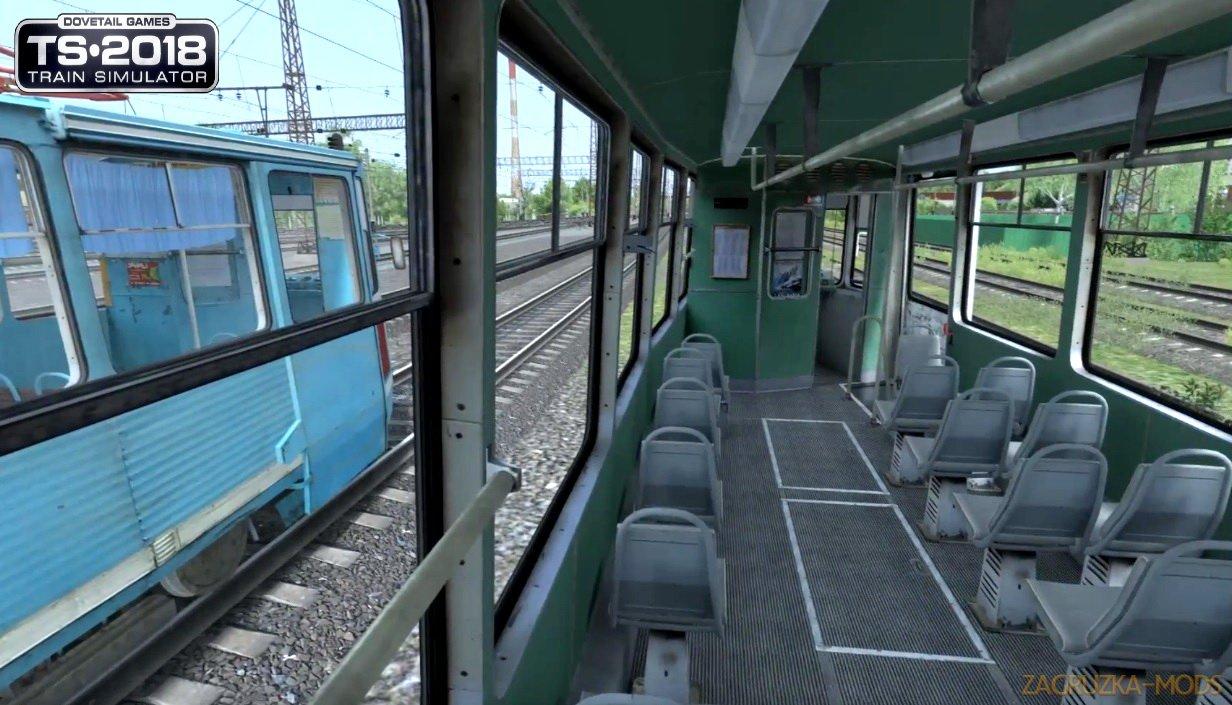 Electric Tram Pack КТМ-5 71-605 v1.0 for TS 2019