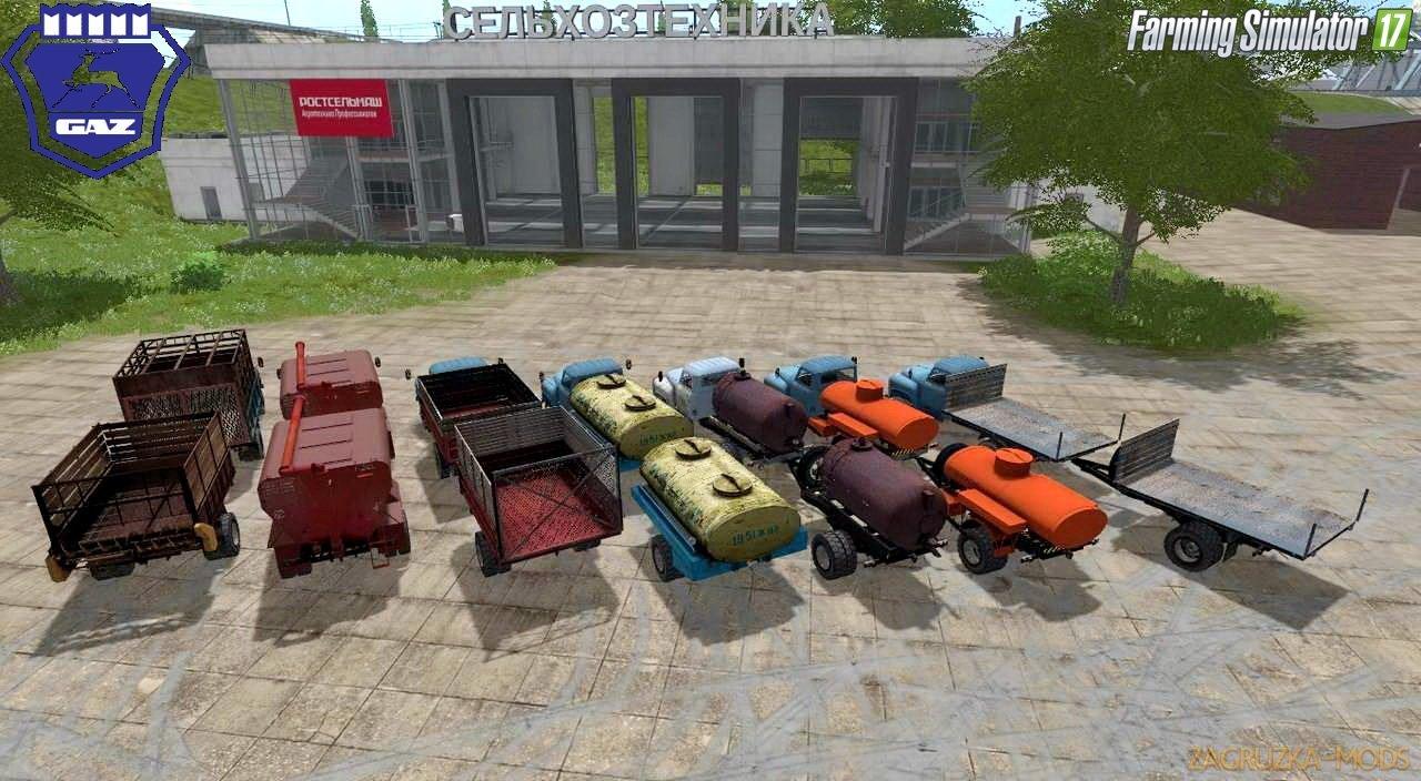 GAZ 52-53 Trucks Pack Final Version v1.0 for FS 17