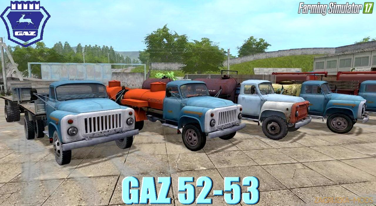 GAZ 52-53 Trucks Pack Final Version v1.0 for FS 17