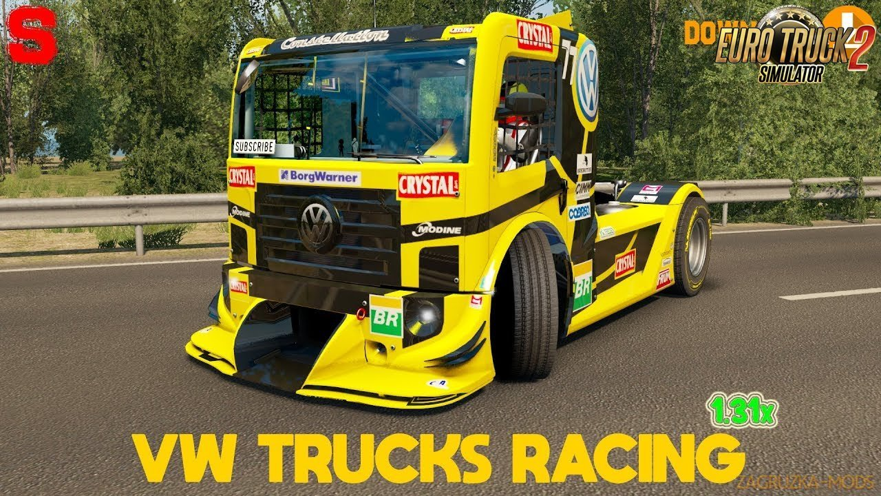 Volkswagen Trucks Racing v1.3 (1.31.x) for ETS 2