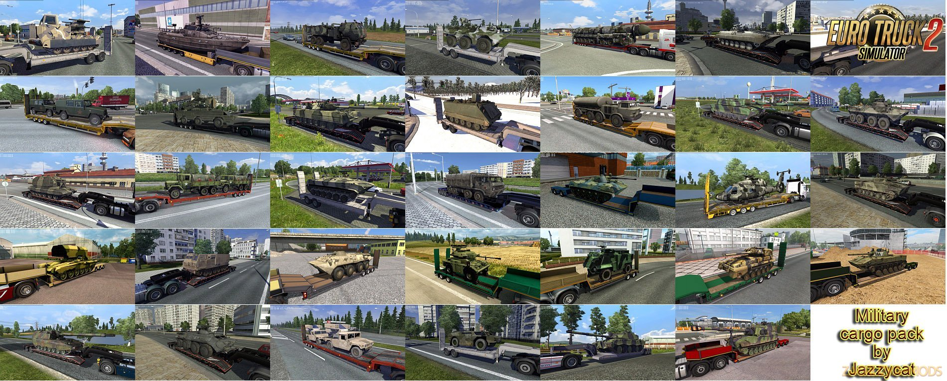 Military Cargo Pack v2.7 by Jazzycat