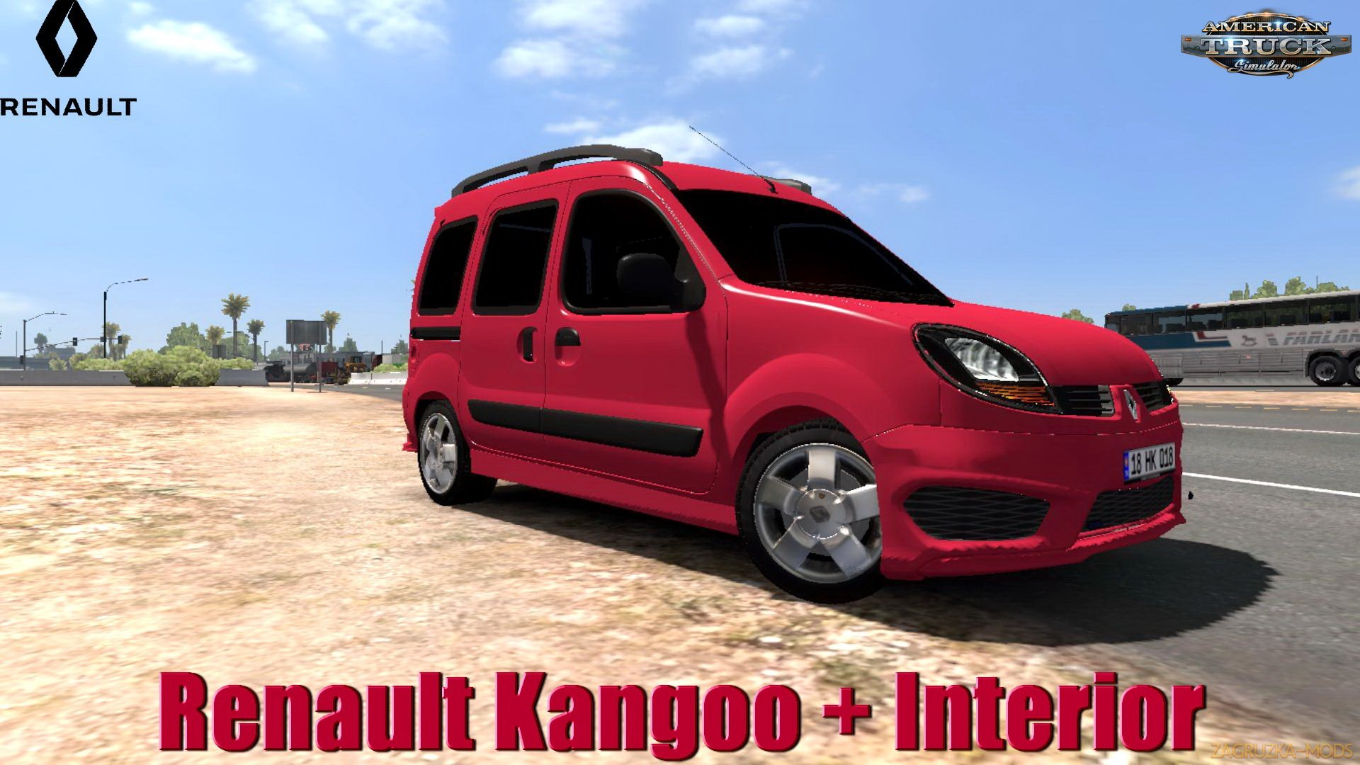 Renault Kangoo + Interior v1.0 (1.31.x) for ATS