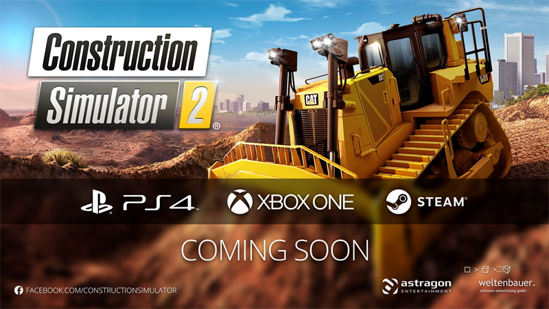Construction Simulator 2 - Announcement game coming to PC