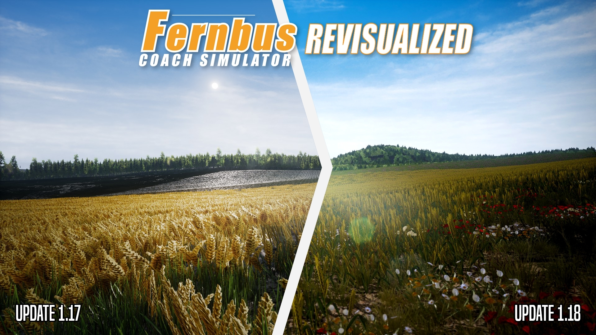 Fernbus Coach Simulator Revisualized - Update 1.18