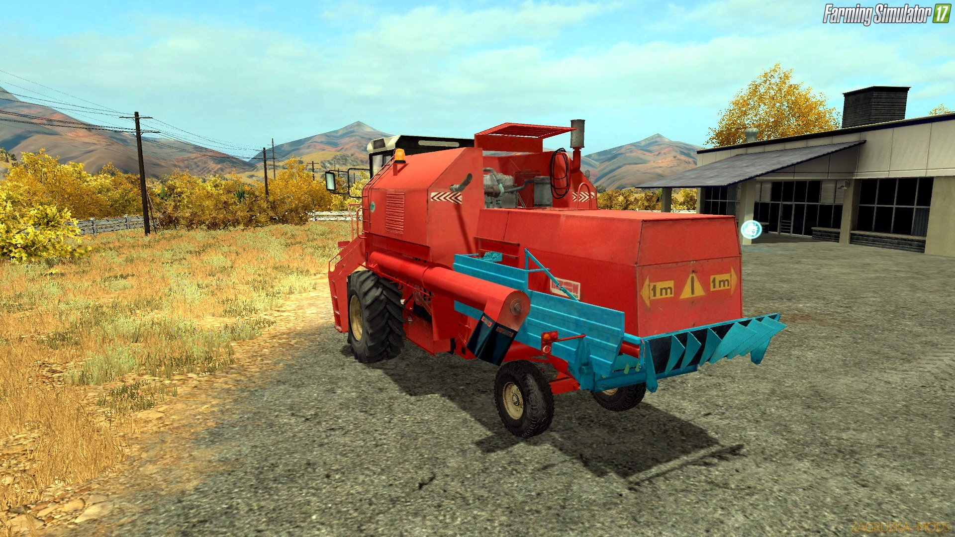 Bizon Z058 Rekord Red v2.0 for FS 17