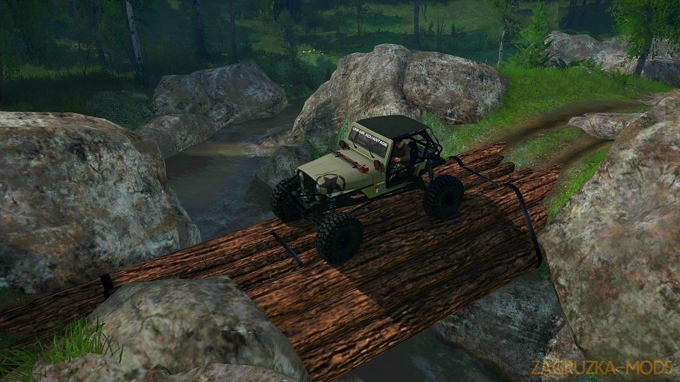 4x4 trails Map v1.0 (v21.05.18) for SpinTires: MudRunner