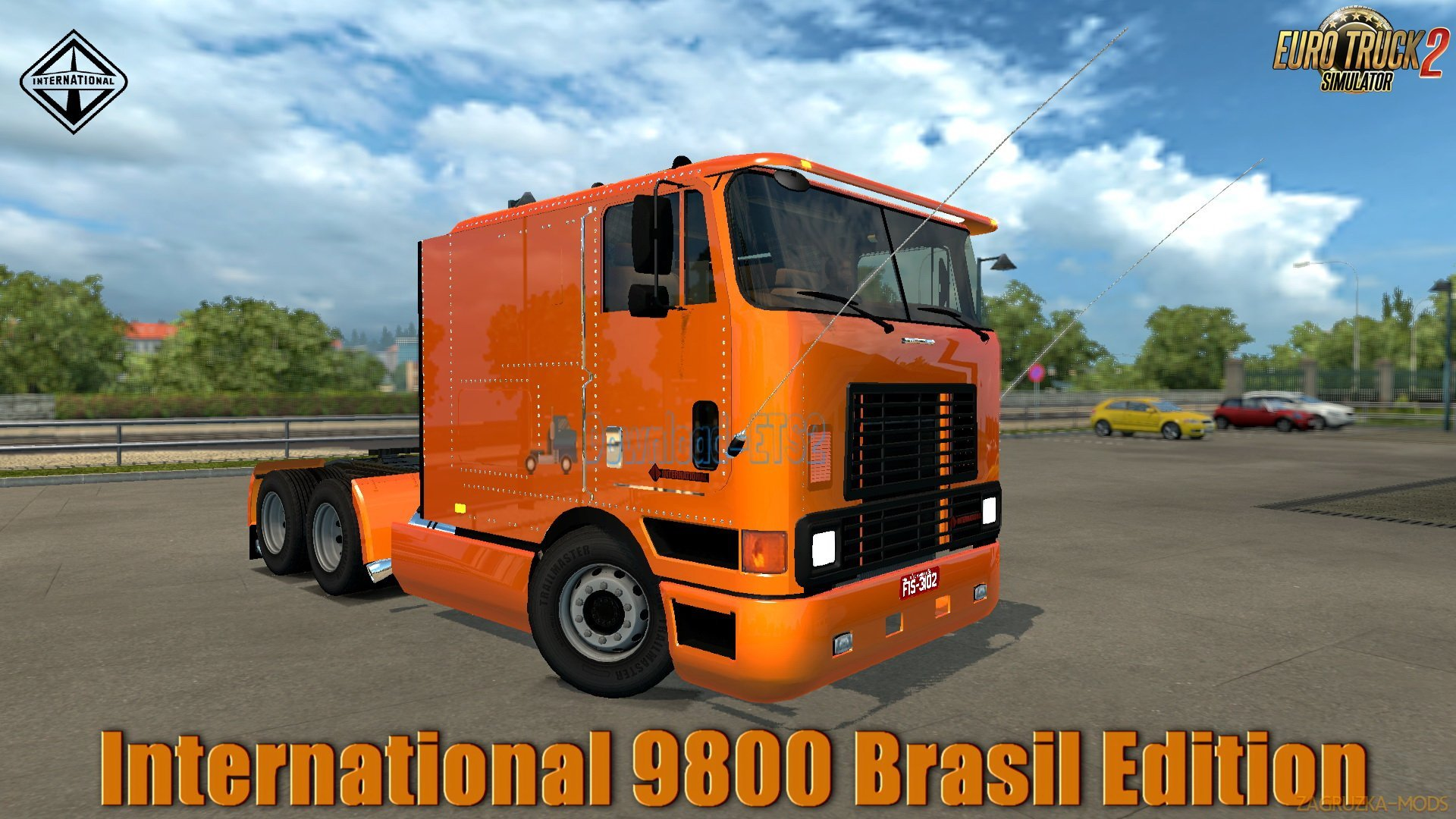 International 9800 Brasil Edition v1.0 (1.31.x) for ETS 2