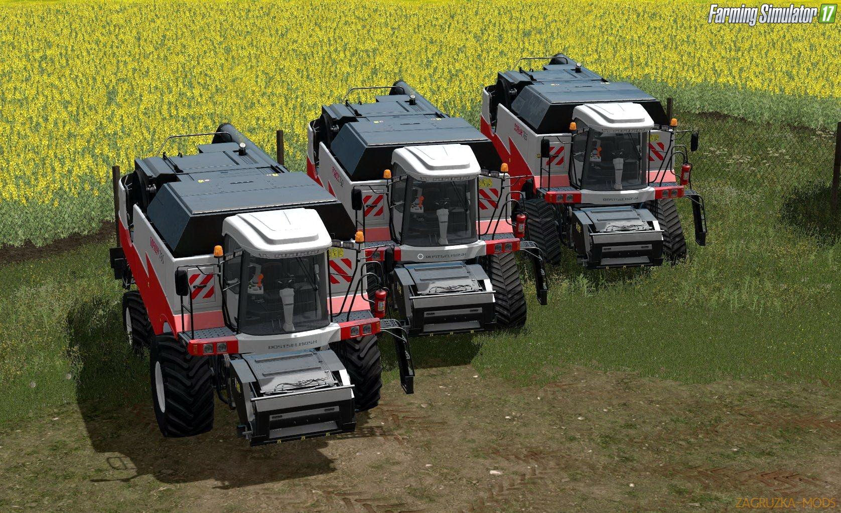 Combine Rostselmash Torum Pack v1.0 for FS 17