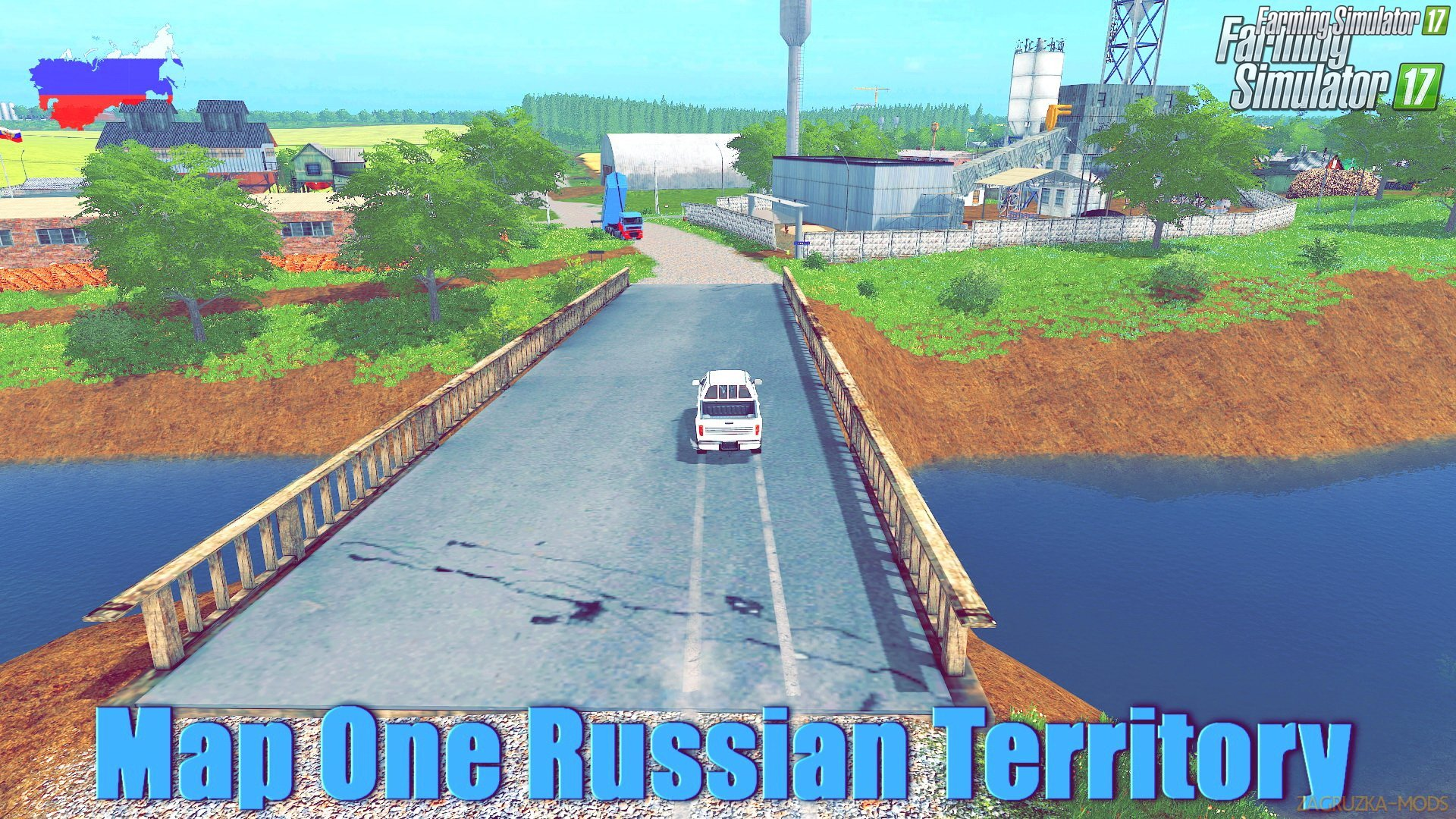 Map One Russian Territory v1.6.7 for FS 17