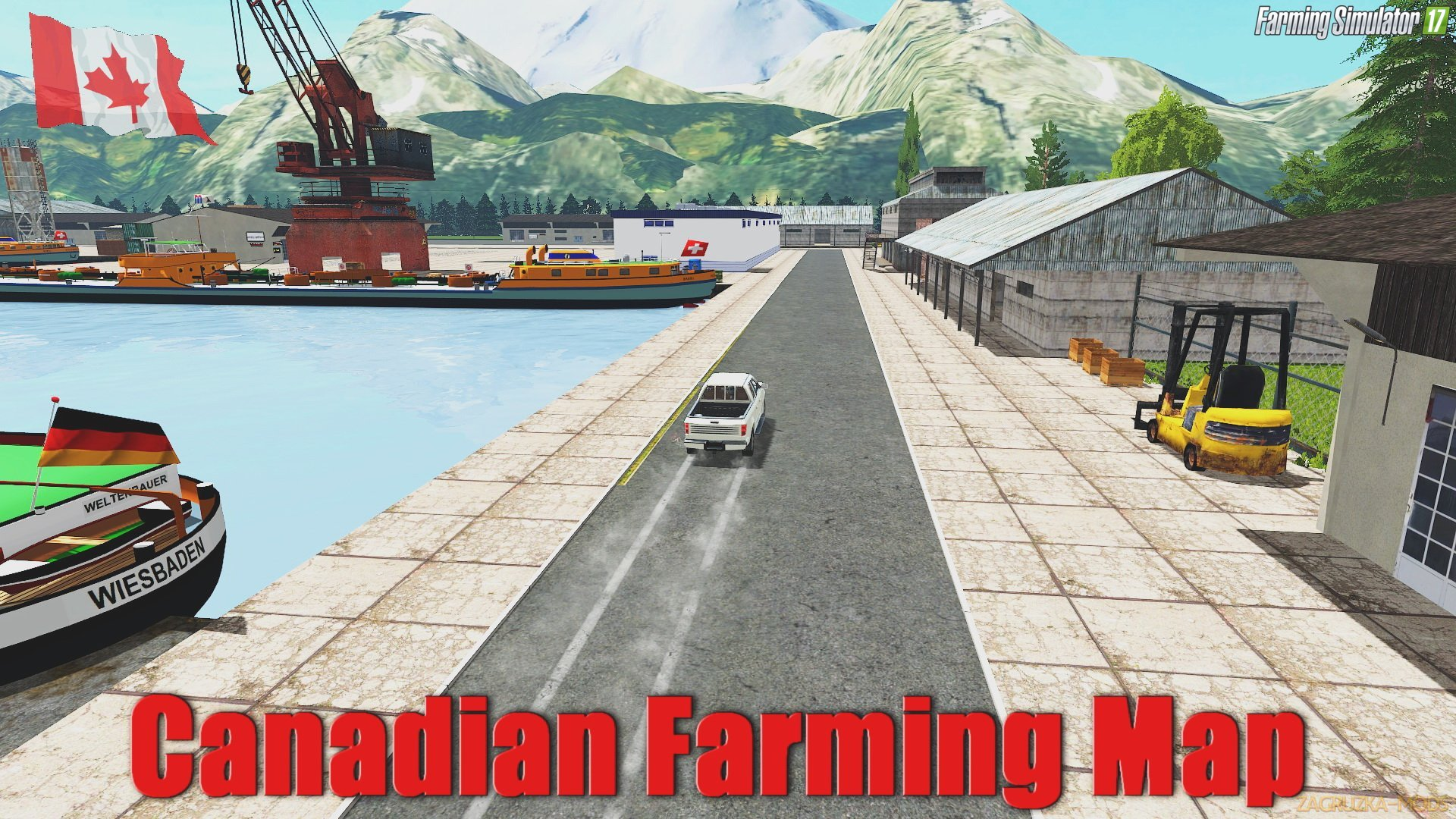 Canadian Farming Map v1.0 (Preview Version) for FS 17