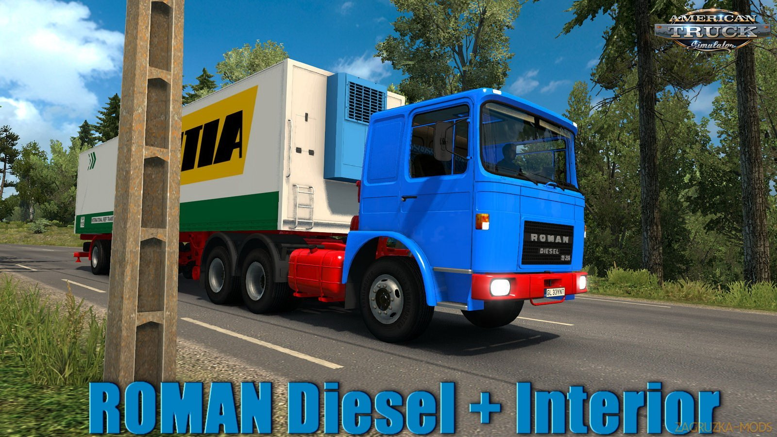 ROMAN Diesel v1.1 by MADster (1.31.x) (ATS)