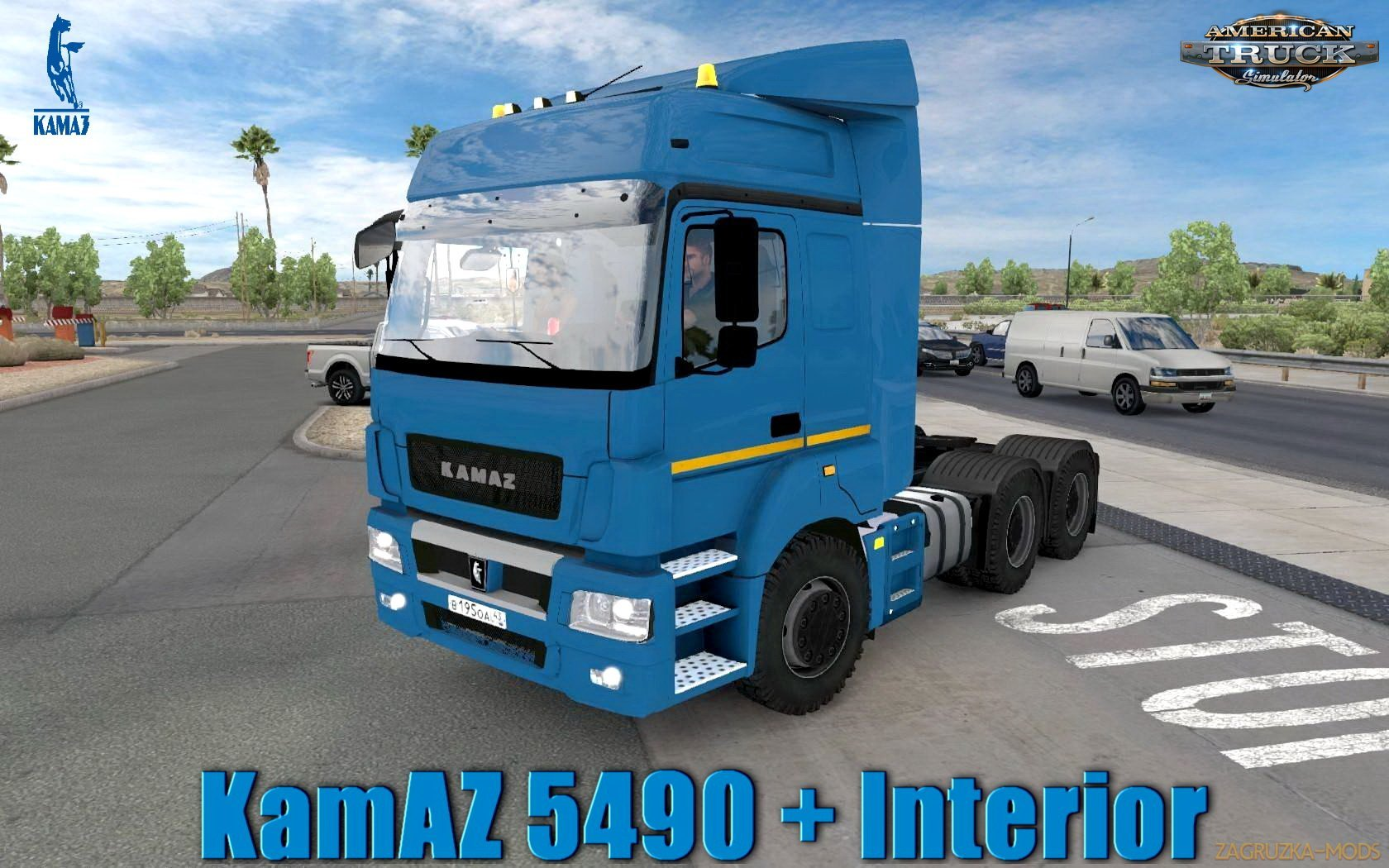 KamAZ 5490 + Interior v1.0 (1.31.x) for ATS