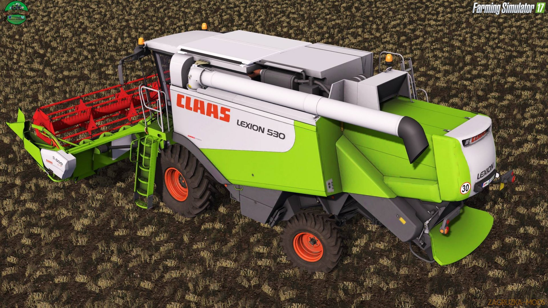Claas Lexion 530 v1.0 for FS 17