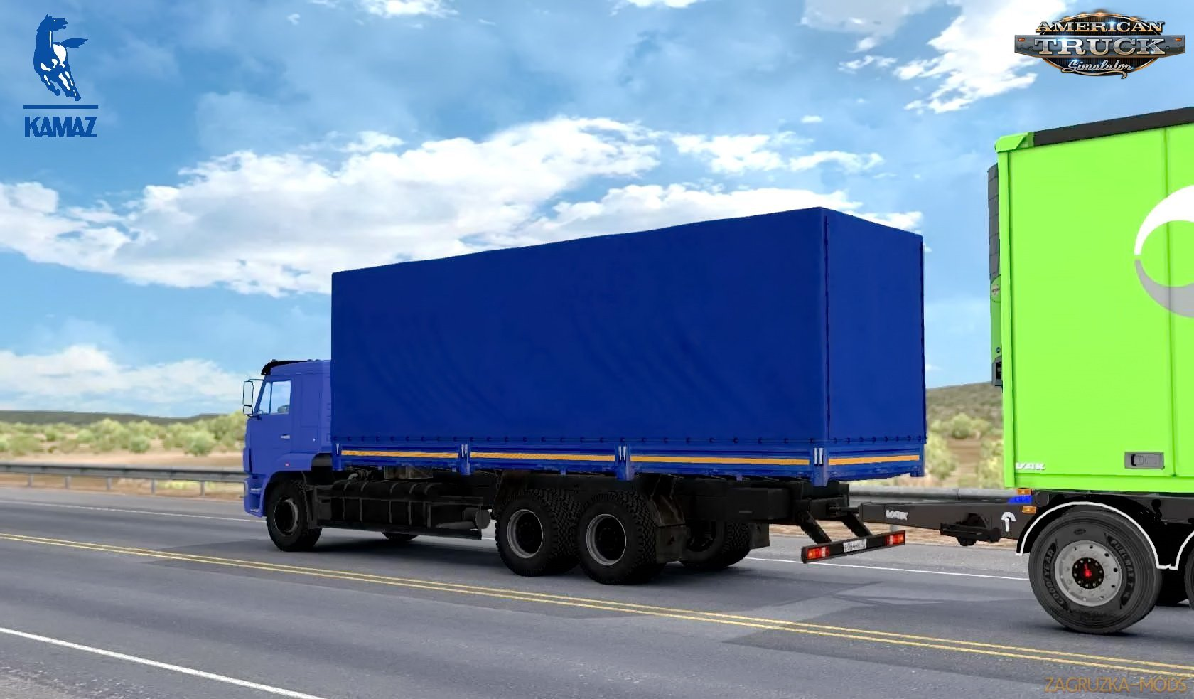KamAZ 65117-65225 + BDF Trailer v2.0 (1.32.x) for ATS