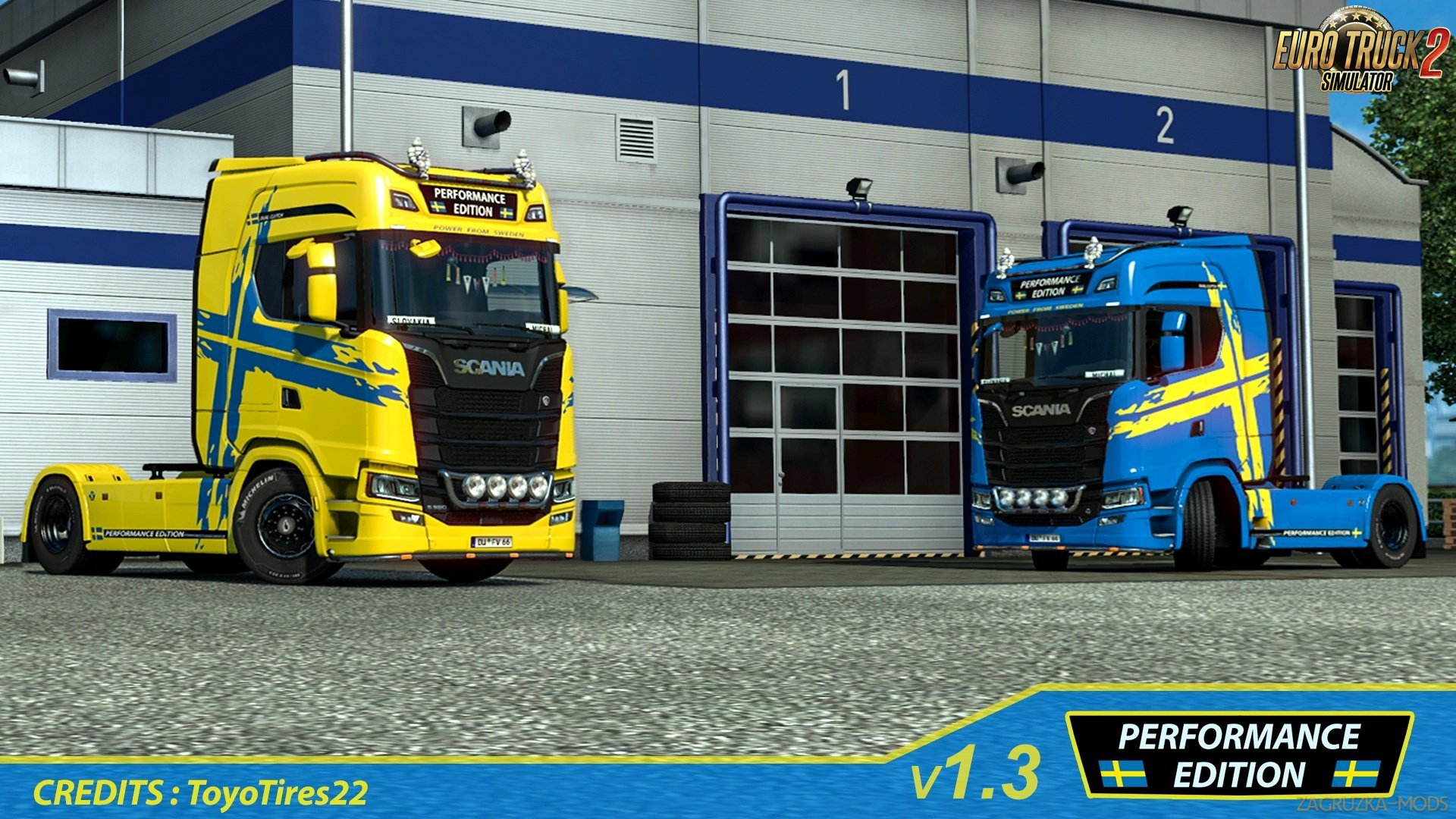 Scania S Performance Edition Skin v1.0 (1.32.x) for ETS 2