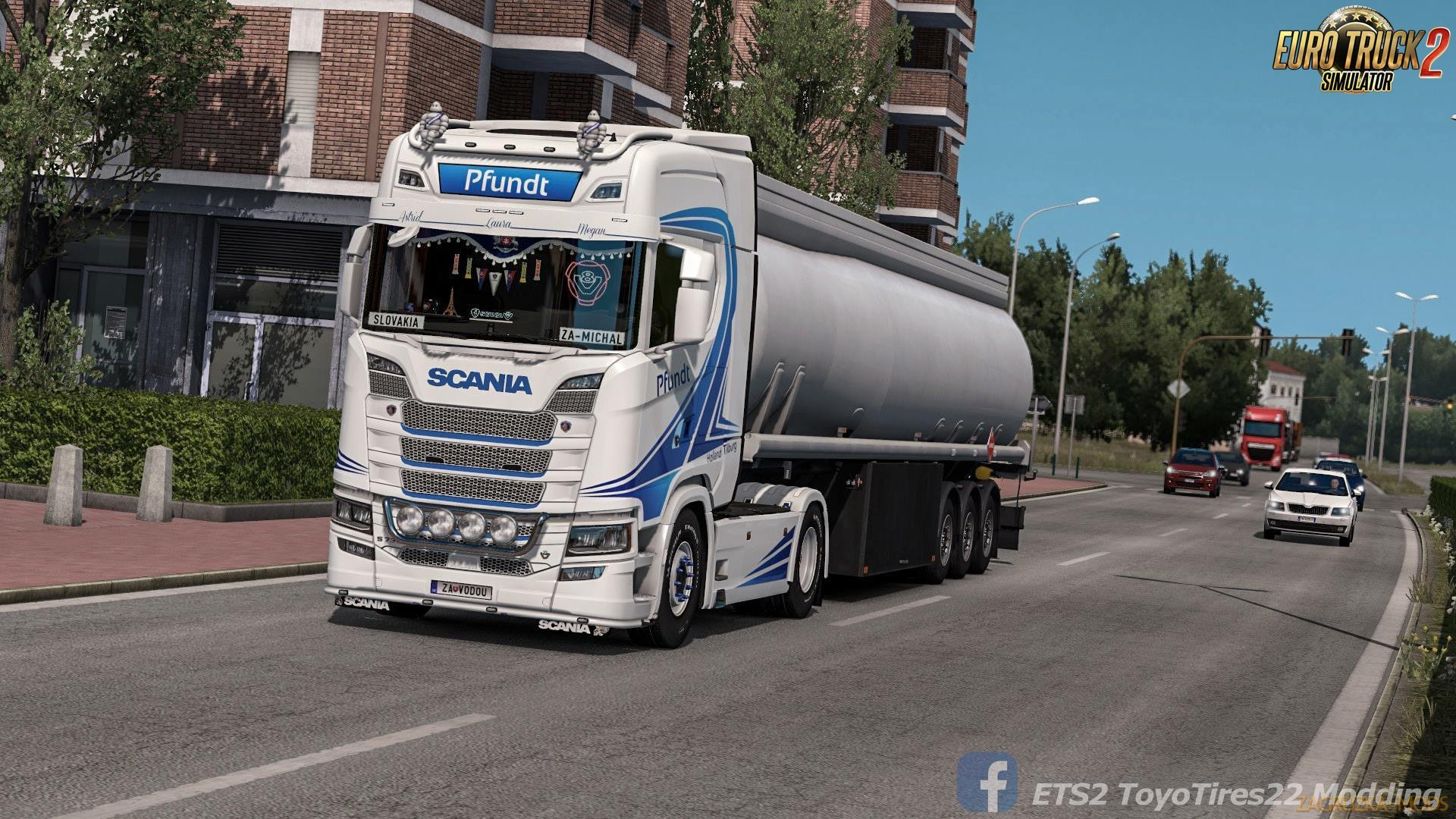 Pfundt Skin for Scania S 2016 v1.0 (1.32.x) for ETS 2