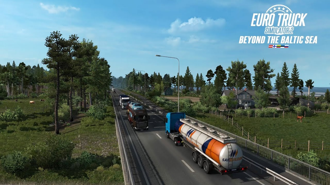 Beyond the Baltic Sea DLC for ETS 2