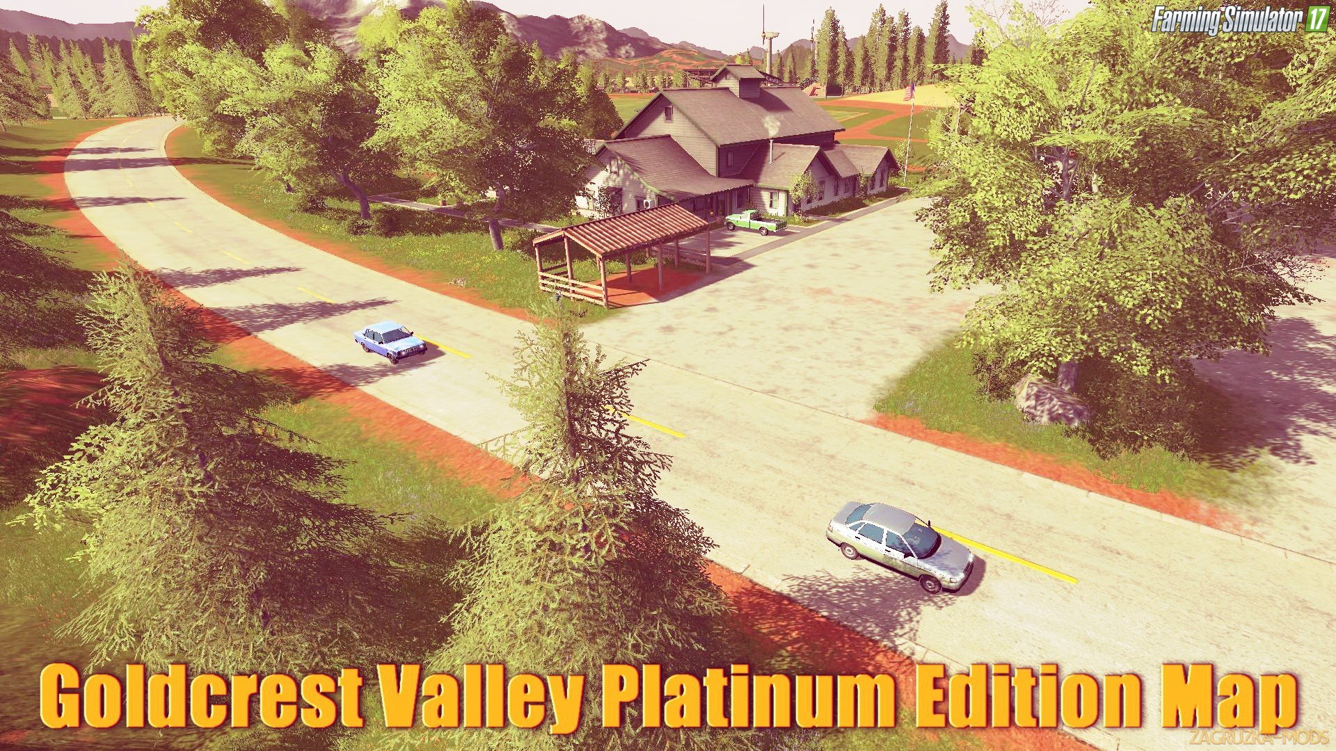 Goldcrest Valley Platinum Edition Map v1.0.0.2 for FS 17