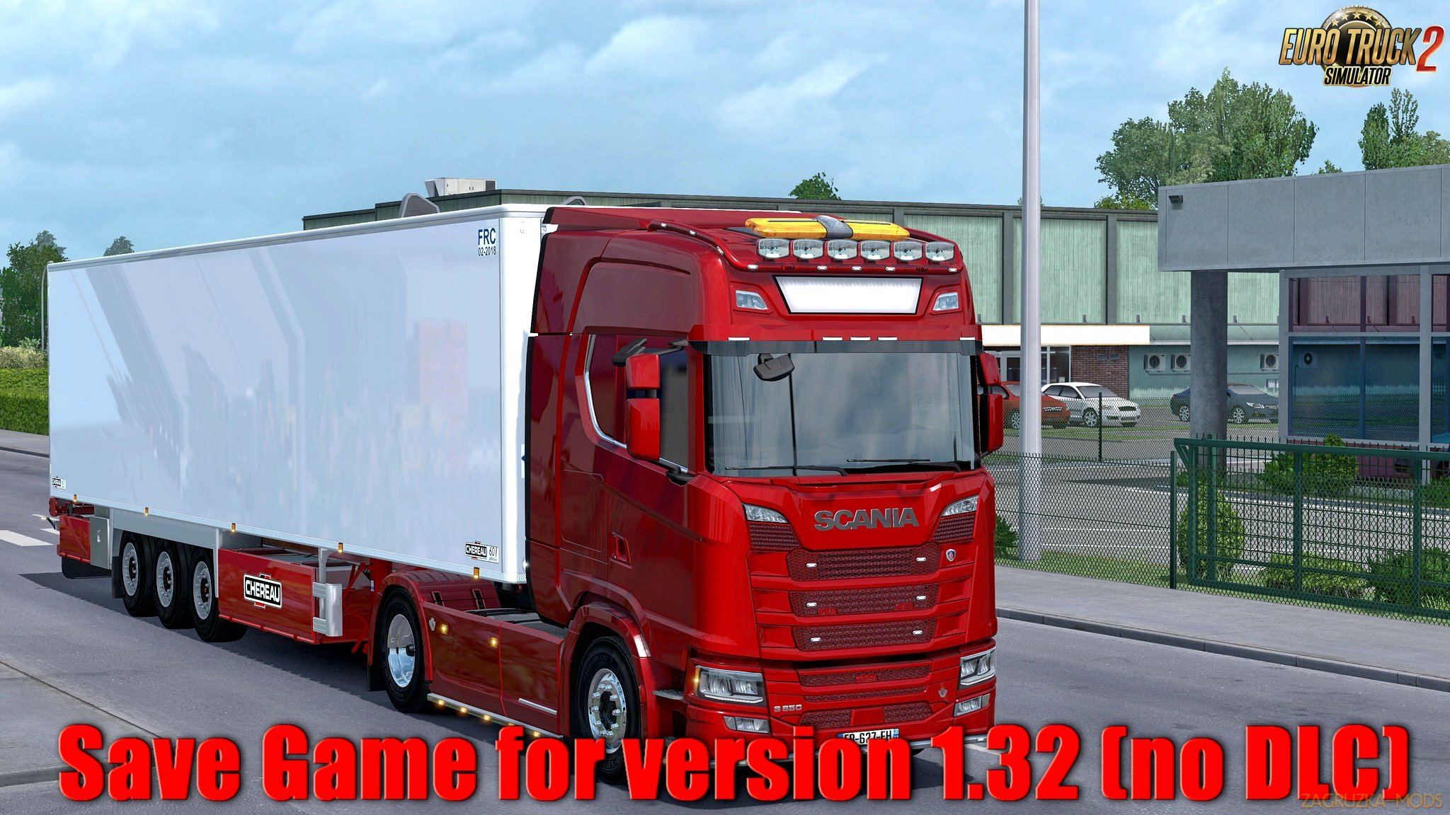 Save Game for version 1.32 (no DLC) v1.0 by Mr simba (1.32.x) for ETS 2
