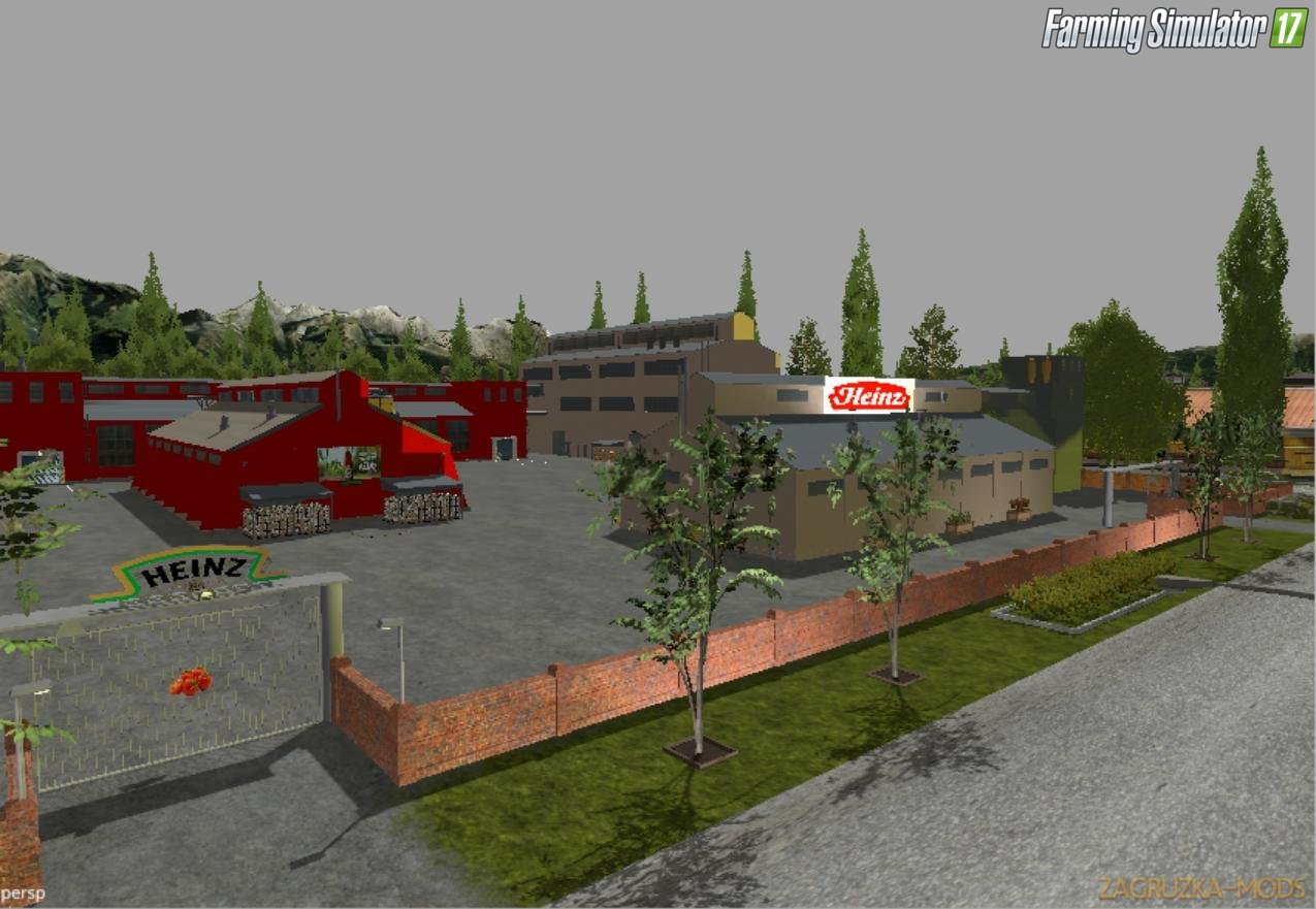 Factory Farm Map v1.4 for FS 17