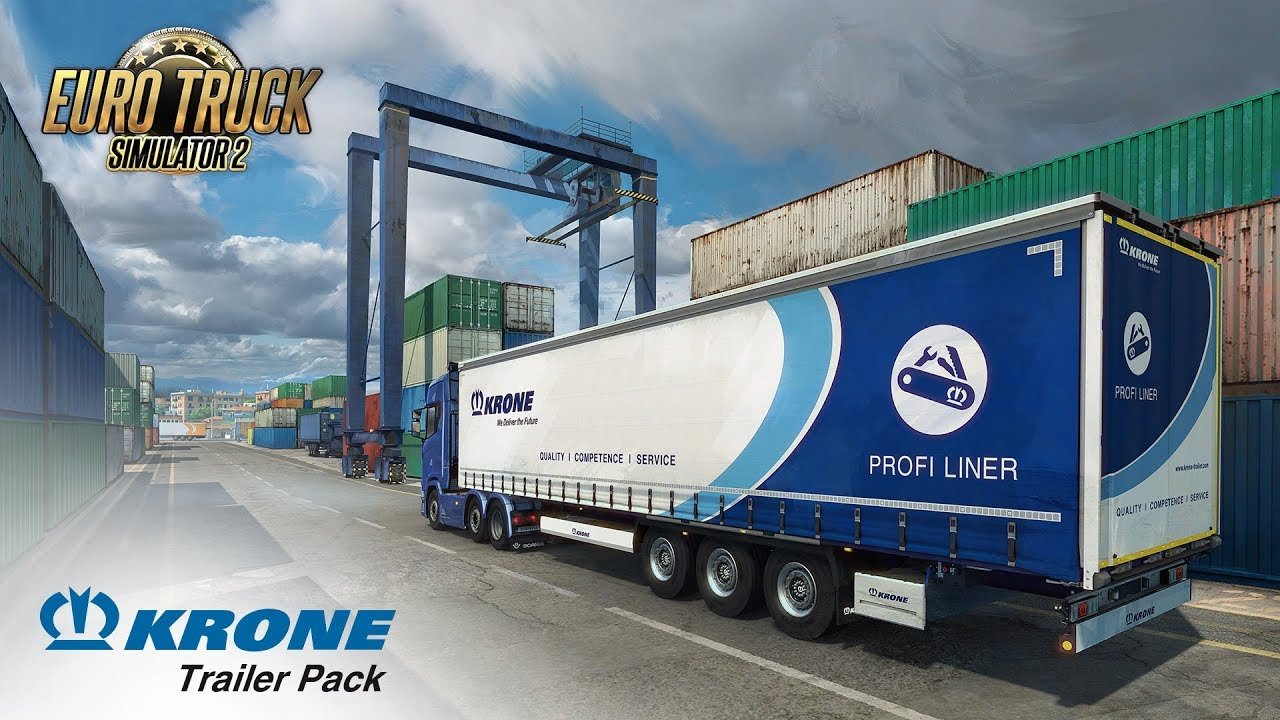 Krone Trailer Pack DLC for Euro Truck Simulator 2