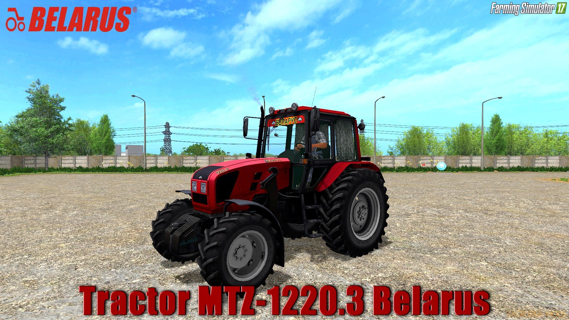 MTZ-1220.3 Belarus v2.1 for FS 17