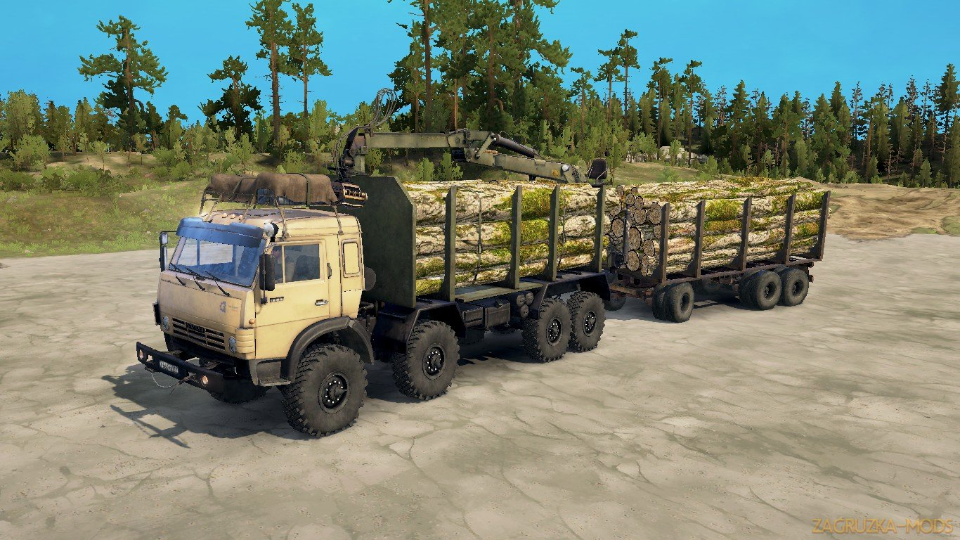 KamAZ-63501-996 by Psix19rus v1.0 (v21.05.18) for SpinTires: MudRunner
