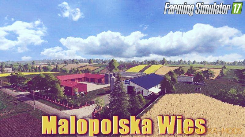 Malopolska Wies Map v1.0 for FS 17