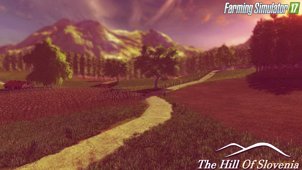 The Hill Of Slovenia Map v1.0.0.1 for FS 17