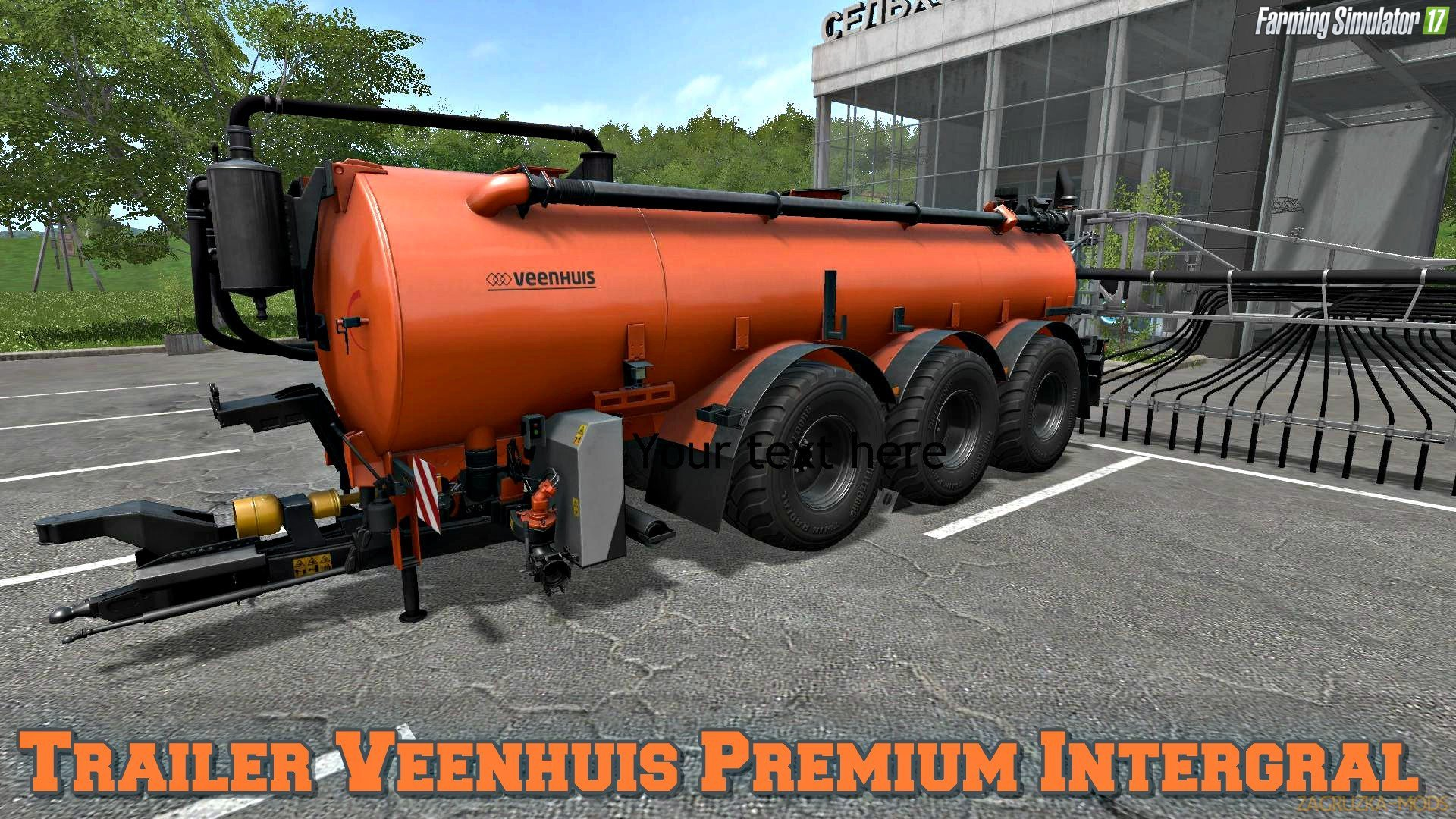 Veenhuis Premium Intergral Gamling Edition v1.0 for FS 17
