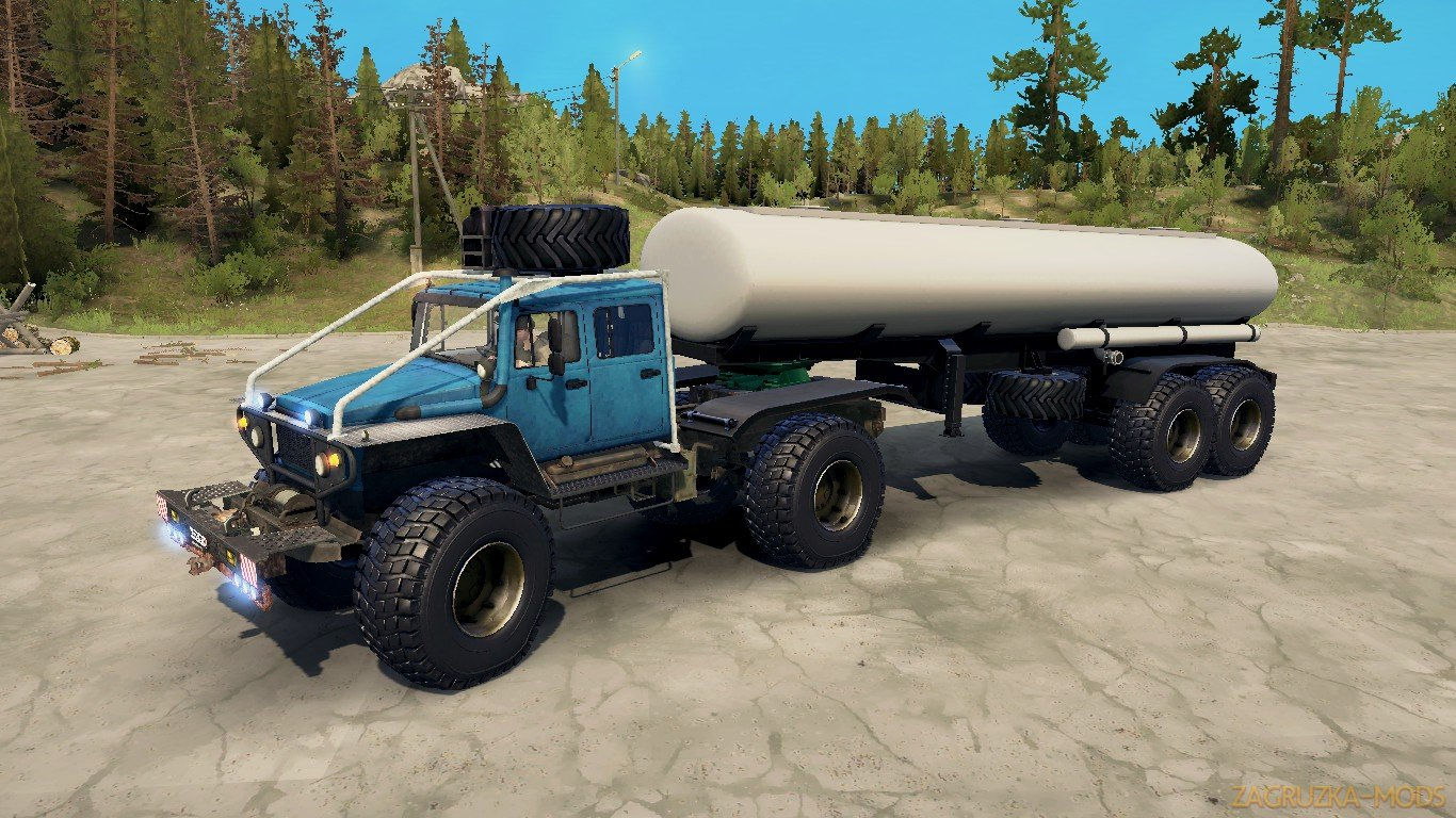 GAZ Harp-RS v1.0 (v21.05.18) for SpinTires: MudRunner