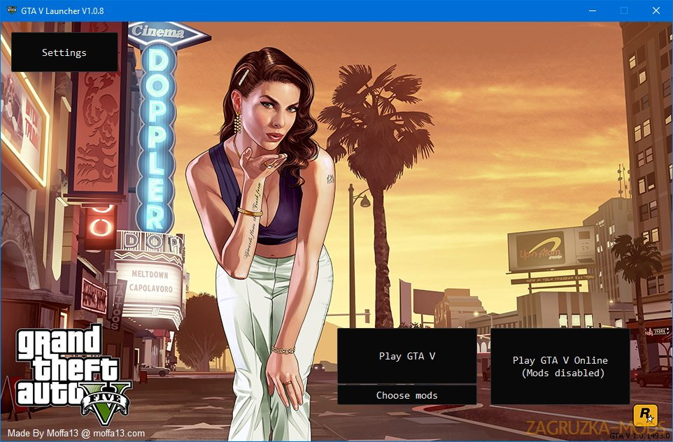 GTA V Launcher v1.0.13 for GTA 5