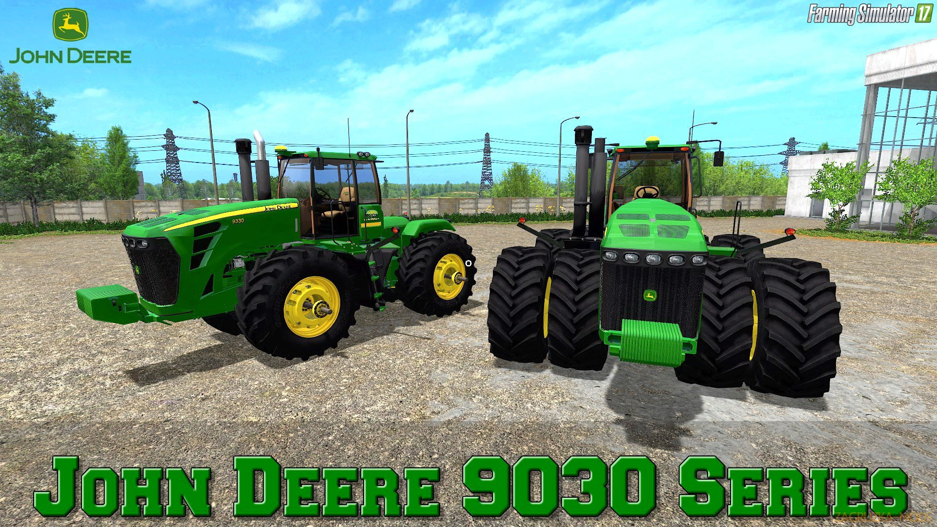 John Deere 9030 Series v1.0 by JHHG Modding for FS 17