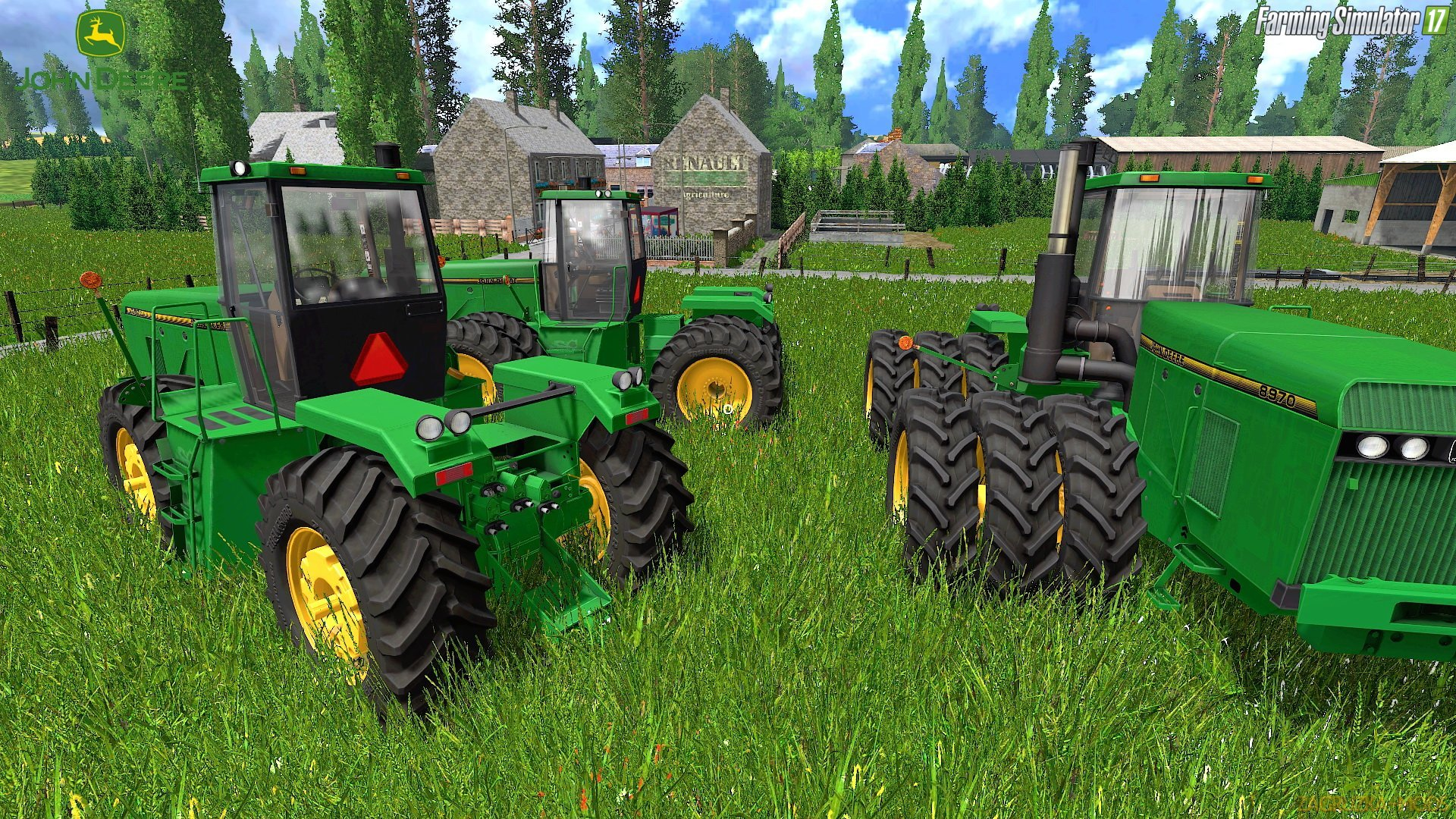 John Deere 8960/8970 Series v1.0.0.2 for FS 17