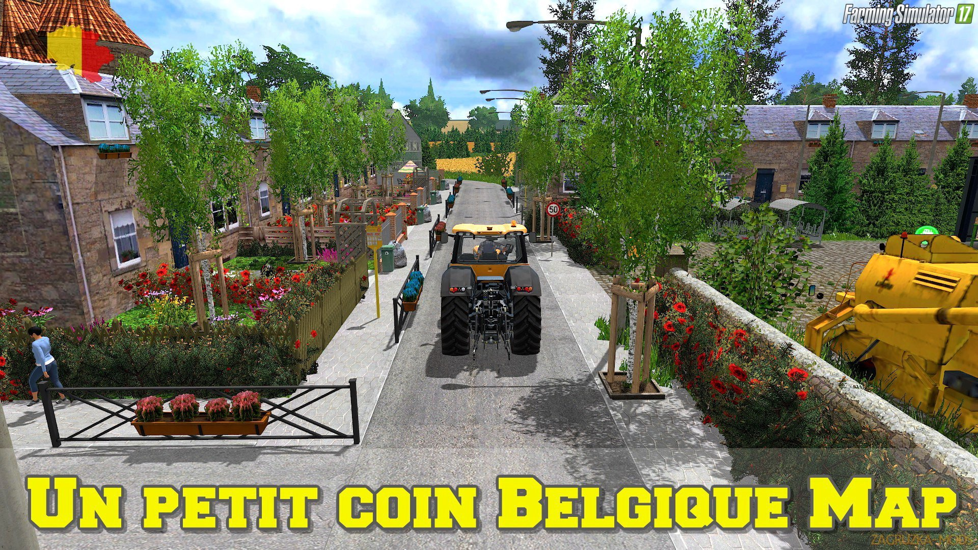 Un petit coin Belgique Map v1.0 by Nicolas Gaming for FS 17