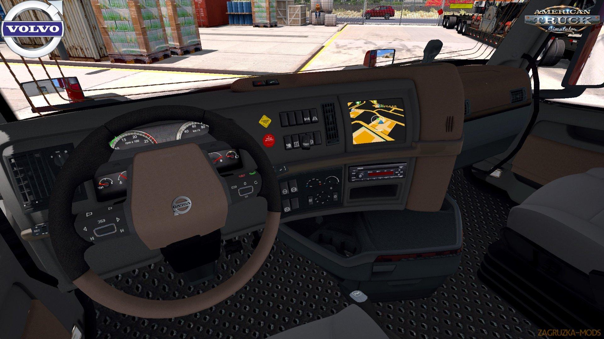 Volvo VNL 2018 + Interior v1.20 Edit by galimim (1.35.x) for ATS