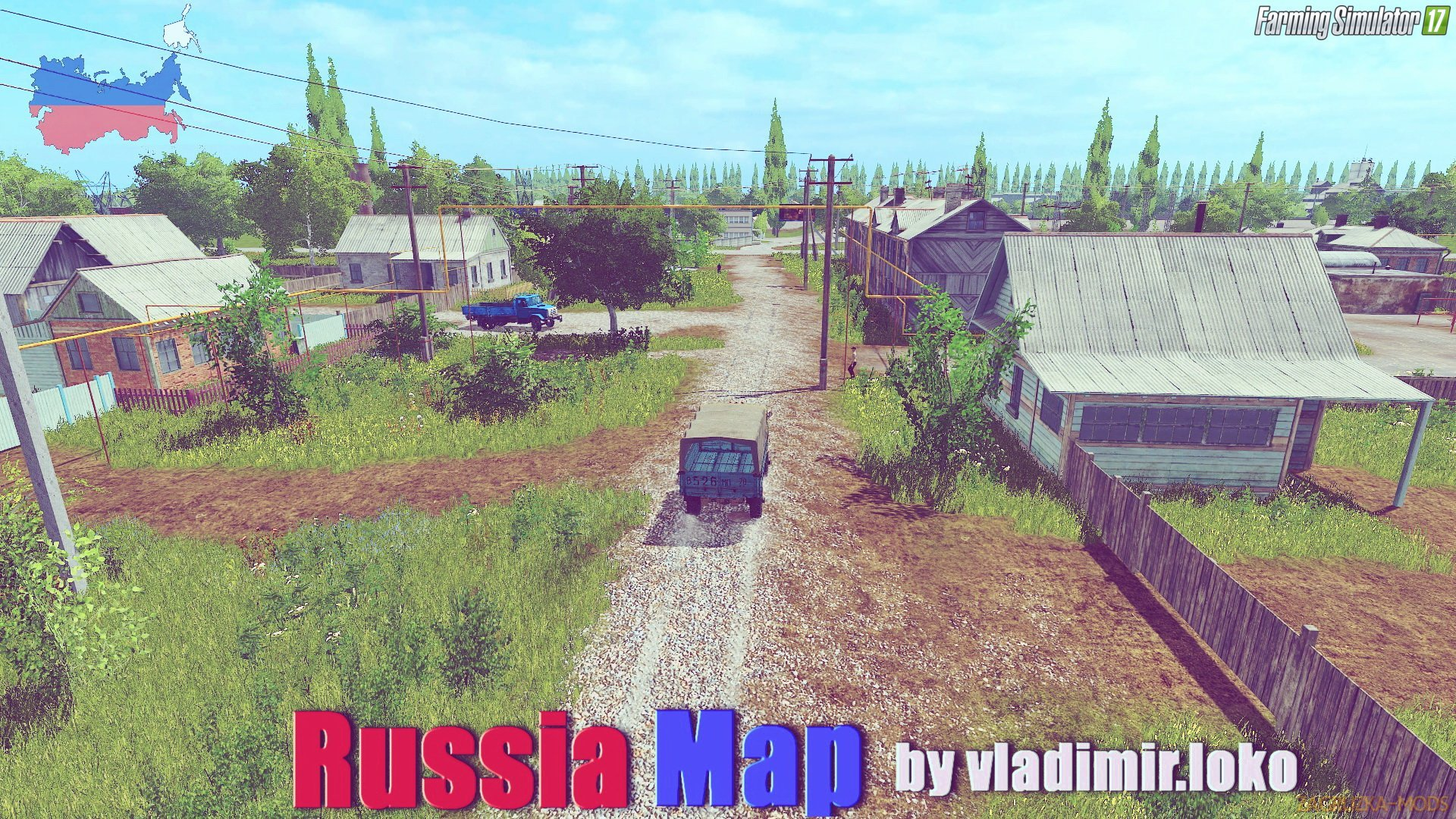 Russia Map v2.1.6 by vladimir.loko for FS17