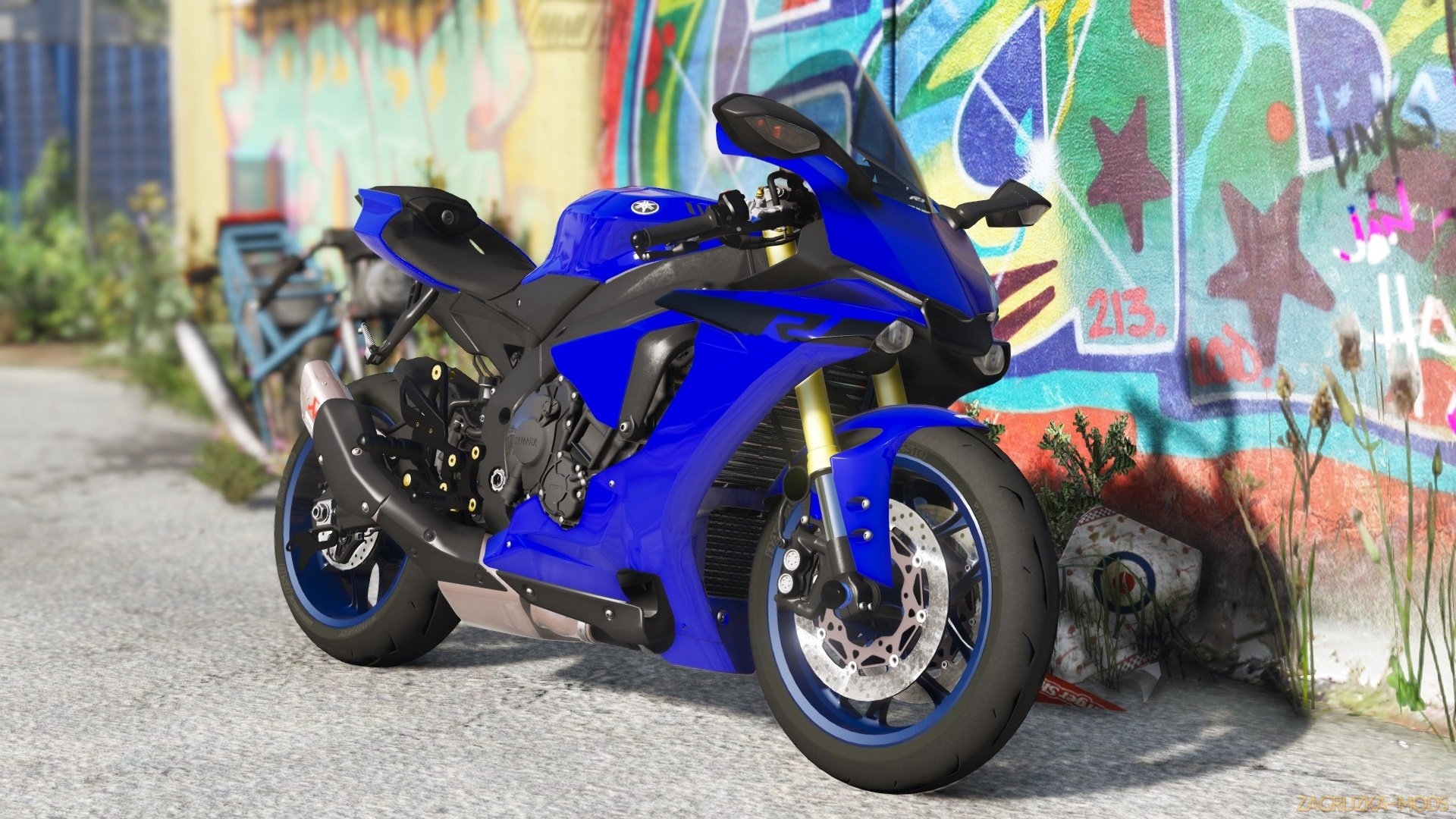Yamaha YZF-R1/R1M 2018 v1.0 for GTA 5
