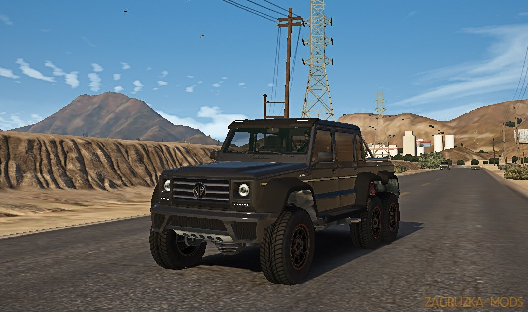 Benefactor Dubsta 6x6 v1.2 for GTA 5