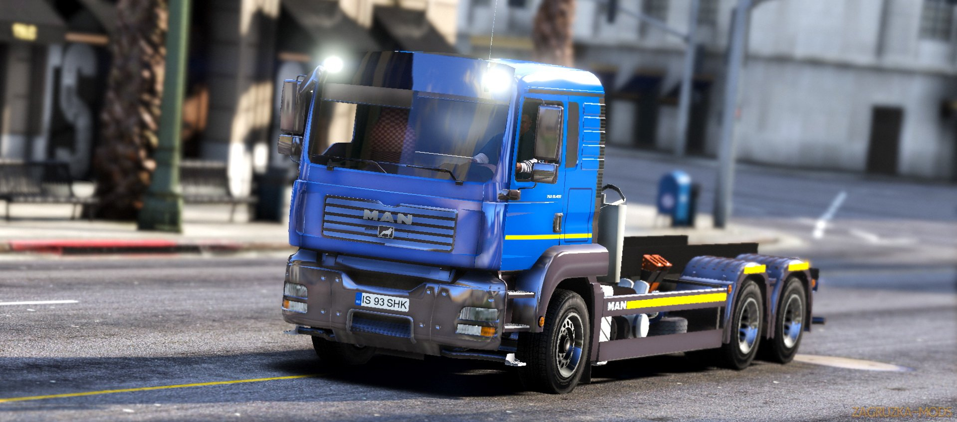 MAN TGA Truck v1.0 for GTA 5