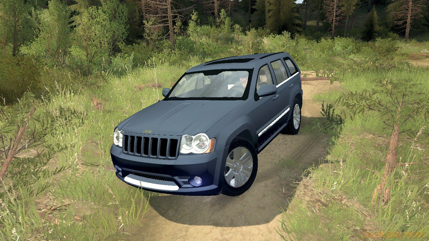 Jeep Grand Cherokee SRT-8 2009 v1.0 (v18.10.18) for SpinTires: MudRunner