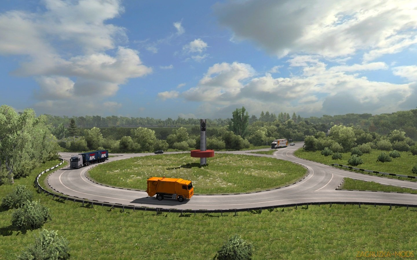 Volga Map v0.1 beta (fixed) (1.32.x) for ETS2