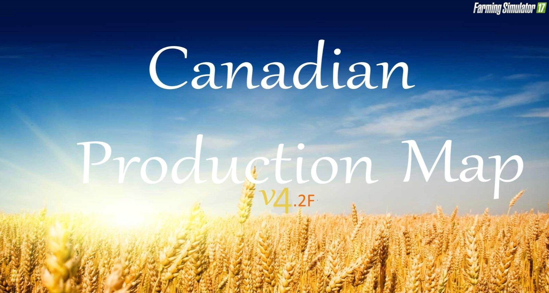 Canadian Production Map v4.2F for FS17