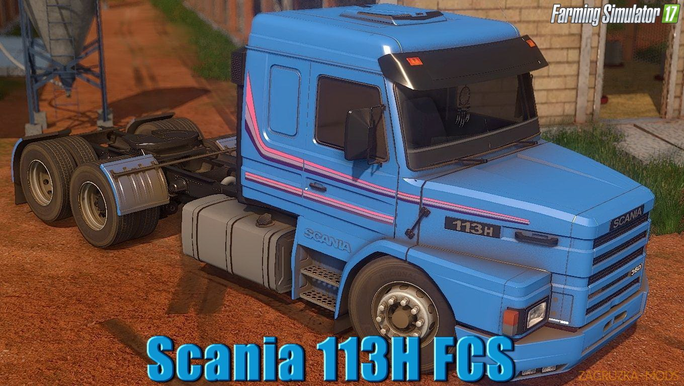 Scania 113H FCS v1.0 for FS17