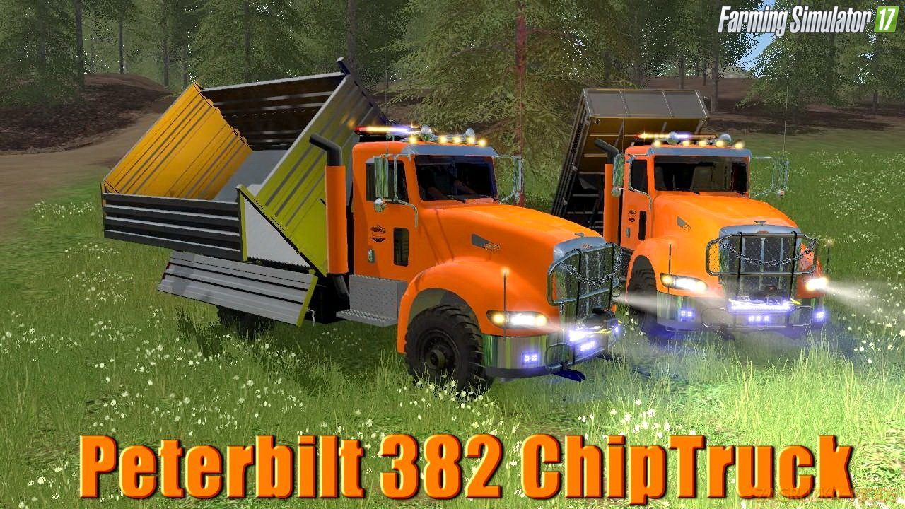 Peterbilt 382 ChipTruck v1.0 for FS17