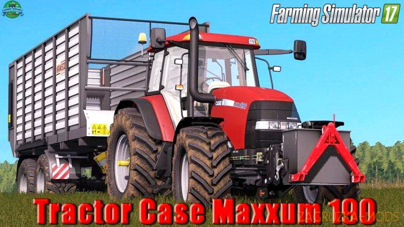 Case Maxxum 190 v1.0 for FS17